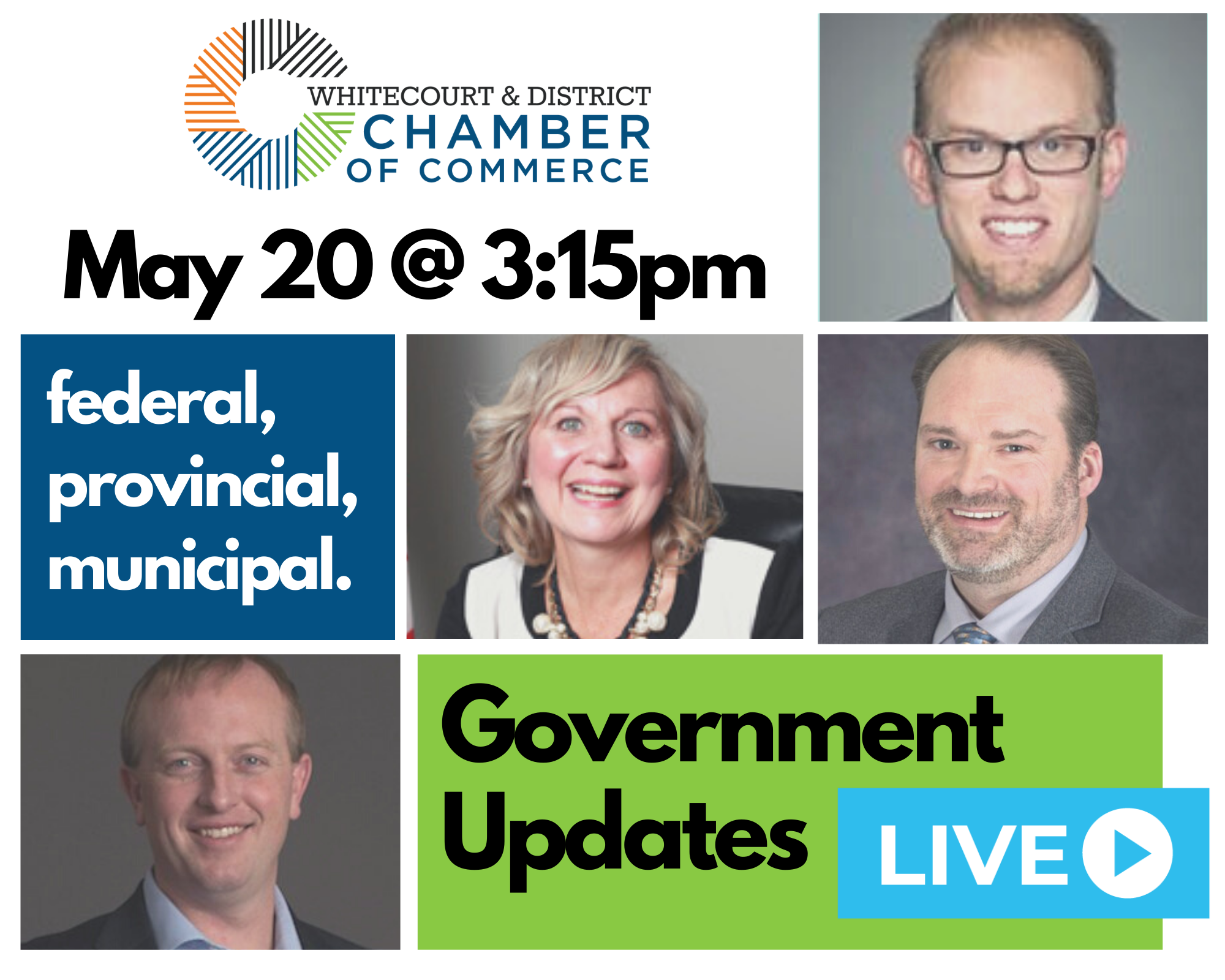 May 20 Govt Update Forum